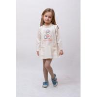 Платье трикотажное Арт.104-0018_P