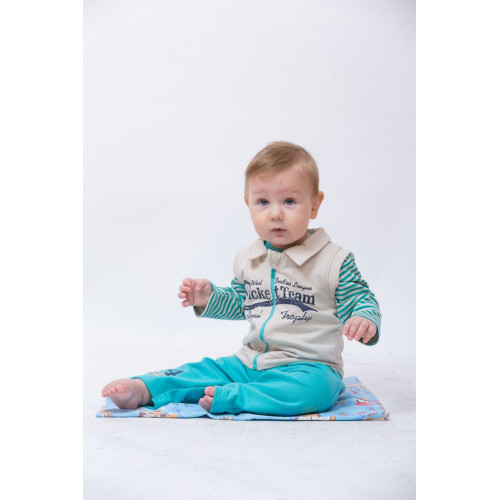 Комплект для мальчика 3-х предметный Арт.14-2776